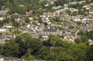 La ville anglaise de Totnes