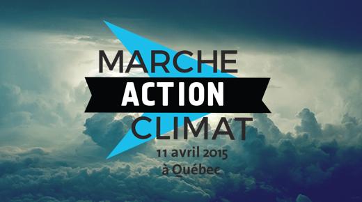 Marche Action Climat - 11 avril - Québec