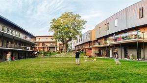 Cohabitat Québec - 42 logements, certification LEED Platine, un exemple de convivialité et d'écologisme